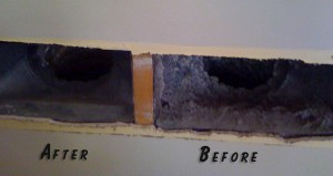 Ceiling Duct Cleaning